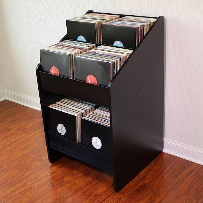 meuble vinyle : Le stand vinyles LP BIN 2