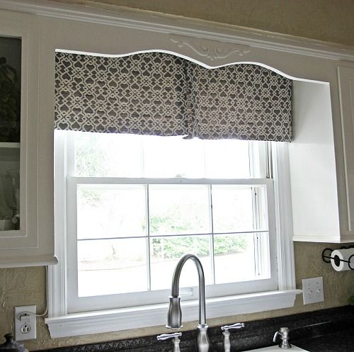 how to make kitchen curtains at home