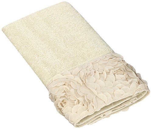 Avanti Linens Mademoiselle Hand Towel, Linen. 100% Cotton. Each towel is come with washing instructions. These nicely decorated towels are made in America by Avanti Linens. For decorative bathrooms and guest bathrooms. Avanti Linens. Item dimensions: weight: 33, width: 3000, height: 50 hundredths-inches.