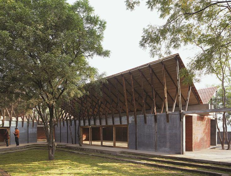 Jetavan: Centro de aprendizaje budista #arquitectura #architecture  Descubrí este proyecto: