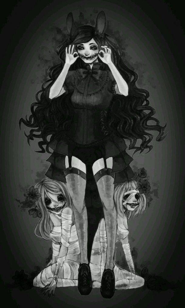 """Mi nombre es desconocido, los pocos que lo sabían... Están muertos. Ellas son """"Amor"""" y """"Sufrimiento"""", me perseguiran hasta el fin de los tiempos por mi horrible pasado."""