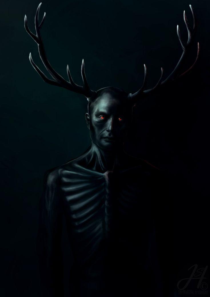Wendigo By SheWolf294deviantartcom On deviantART Hannibal Art