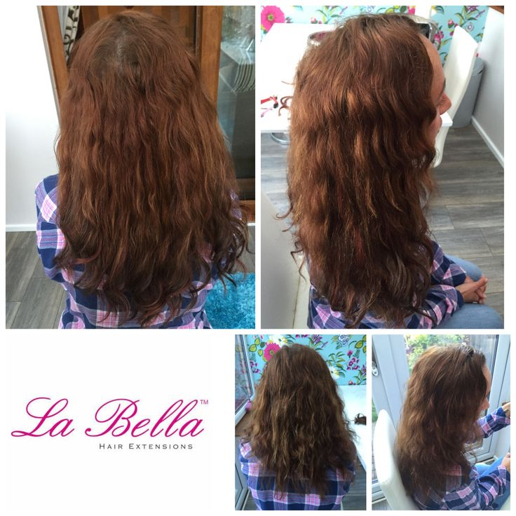 122 best la bella nano ring hair extensions before and after 12 naturally curly european la bella hair extensions mix of brunette auburn and pmusecretfo Images