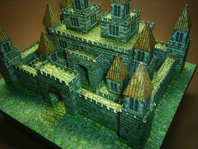 Free Download Desktop Medieval Castle By Papermau