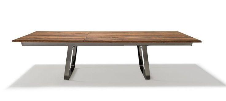 european furniture - modern farmhouse table by Team 7 (at Divine Design Center in Boston)