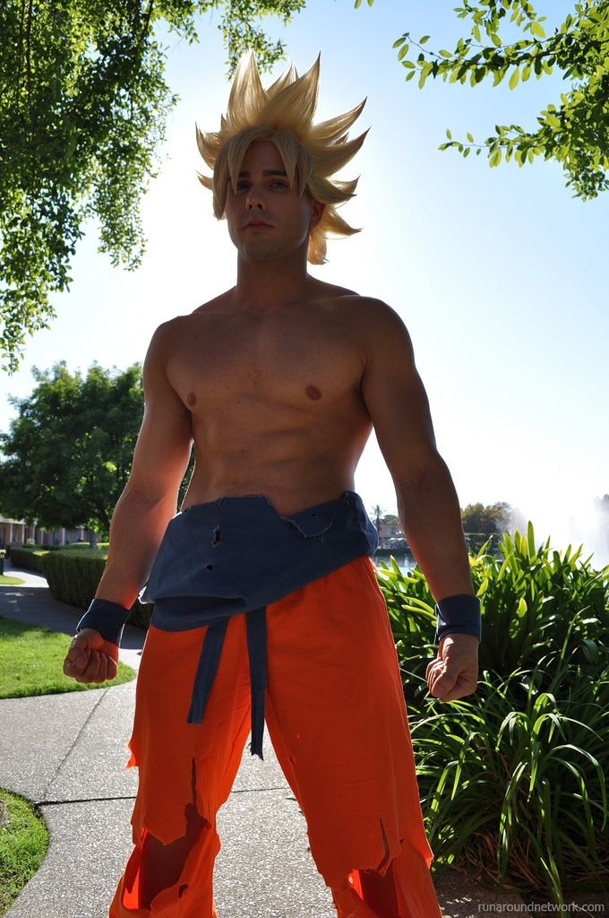 SSJ2 Goku Cosplay 5 by *SSJ4Theo; just one of the character I like as a kid  #DragonBallZ