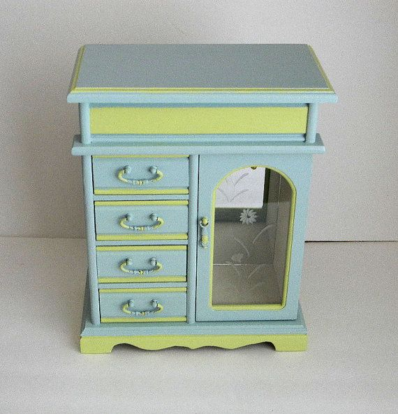 111 best Jewelry Boxes images on Pinterest Jewelry armoire