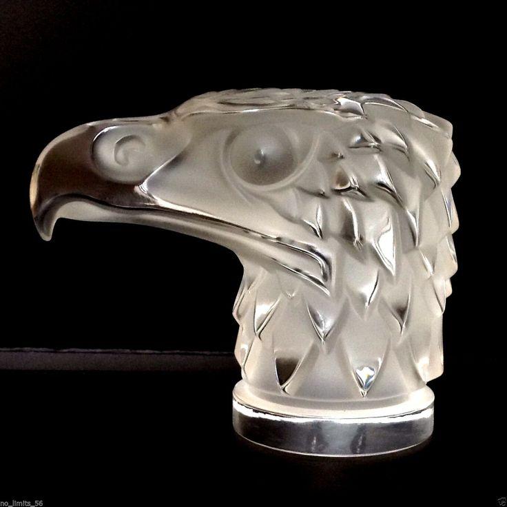 Kristall Mascotte Figur Lalique TÊTE D'AIGLE 1,4kg 14cmL NP 800€SEHR GUT ZUSTAND | Antiquitäten & Kunst, Glas & Kristall, Glasfiguren | eBay!