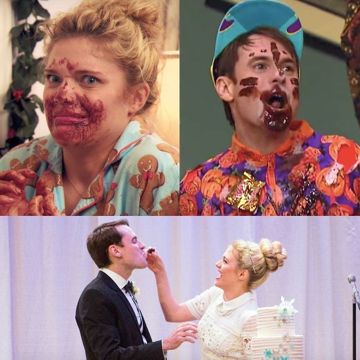 """Studio C on Instagram: """"In honor of national chocolate day, we'd like to call out these two chocoholics! #StudioC #Chocolate #Mattory"""""""