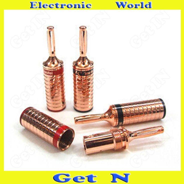 $28.50 (Buy here: https://alitems.com/g/1e8d114494ebda23ff8b16525dc3e8/?i=5&ulp=https%3A%2F%2Fwww.aliexpress.com%2Fitem%2F2pcs-Gaofei-Audiophile-Red-Copper-Banana-Connectors-Socket-Audio-Speaker-Amplifier-Cable-Banana-Plug-Jack%2F1000001260063.html ) 2pcs Gaofei Audiophile Red Copper Banana Connectors Socket Audio Speaker Amplifier Cable Banana Plug/Jack for just $28.50