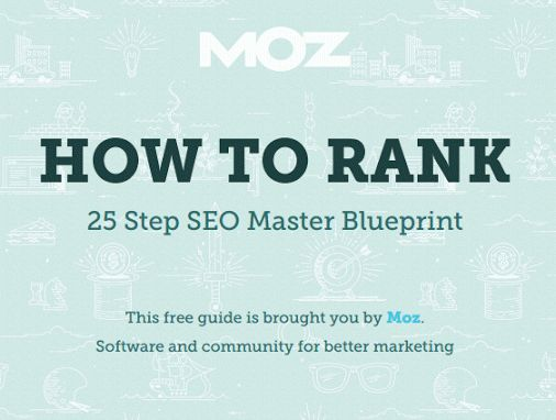 How to Rank: 25 Step SEO Master Blueprint by MOZ