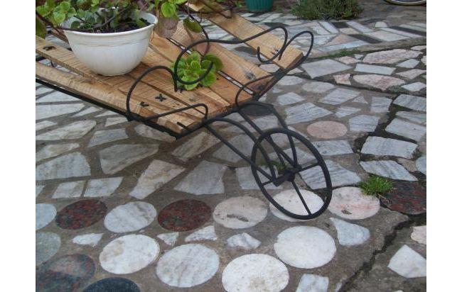 Carretilla de adorno para el jardin decoracion for Carretillas para jardin