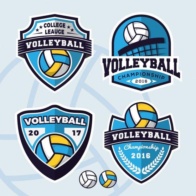 Escudos de Voleibol.