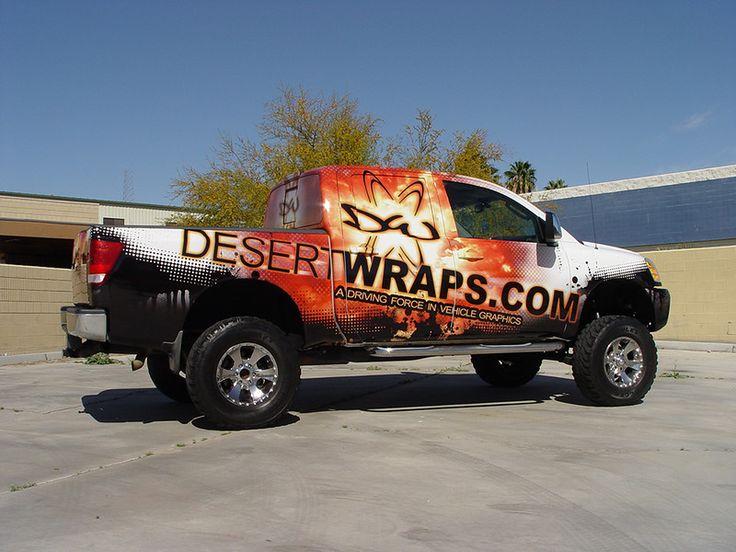 DesertWraps.com Truck Wrap