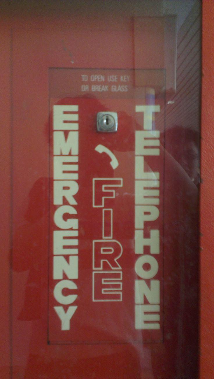 TE emergency telefon