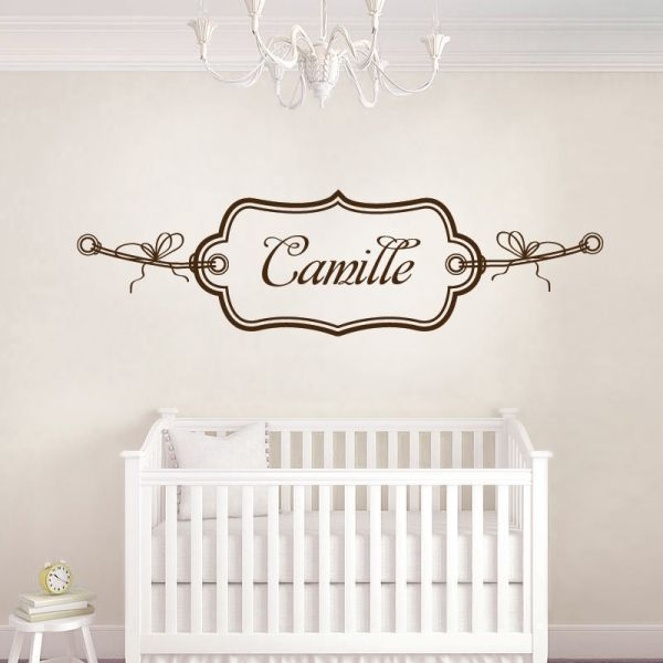17 best images about chambre bebe on pinterest bebe - Sticker chambre bebe fille ...