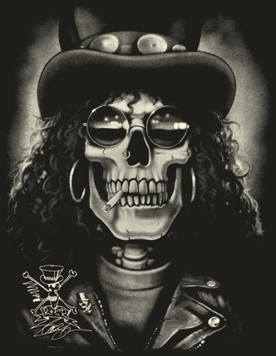 slash skull wallpaper - photo #10