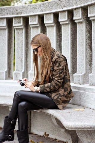 2015 Kamuflaj Ceket Modası - Kadın Moda Trendleri, Güzellik Sırları, Giyim & Aksesuar ModaStilisti.Com