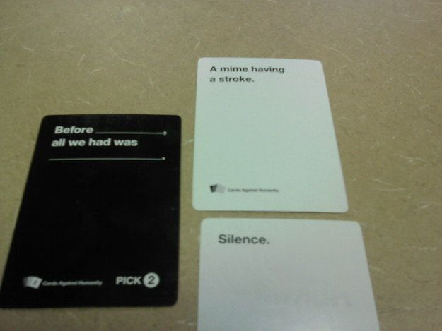 "Poetry. | 24 Times ""Cards Against Humanity"" Was Too Real"