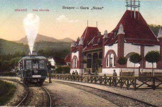 Vechile gări ale Brașovului