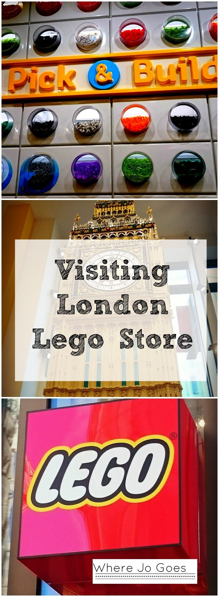 LONDON LEGO STORE: WORLD'S BIGGEST