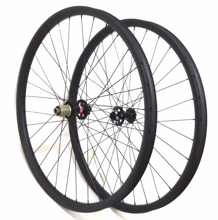 499.00$  Buy here - http://ali9ri.worldwells.pw/go.php?t=32310860588 - Light-bicycle roda mtb 29 carbon rear wheels&front mountain bikes wheelsets 29er 35X25mm Clincher Tubeless hot selling to Spain