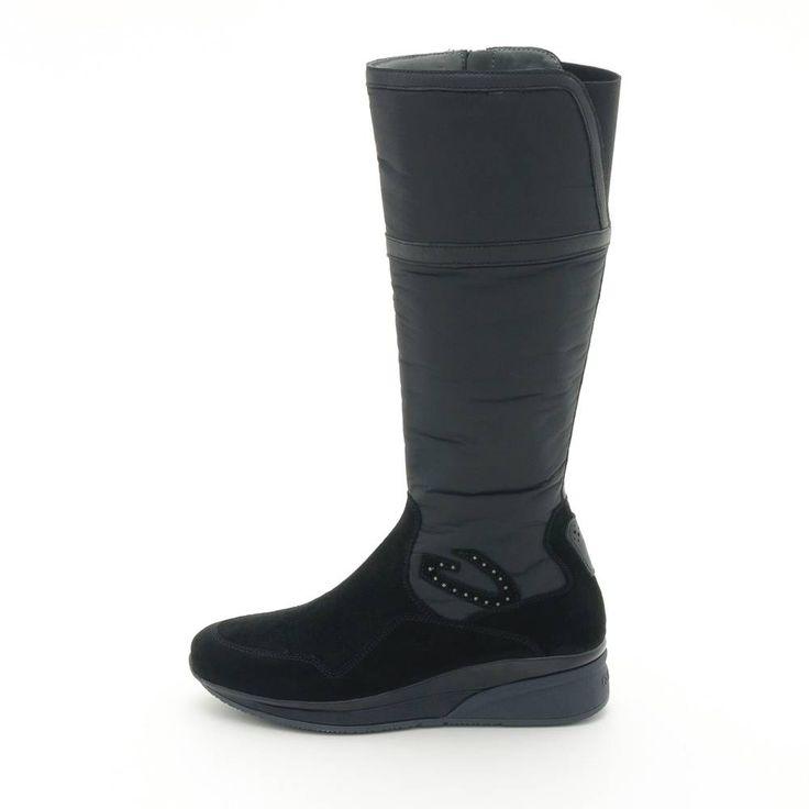 Alberto Guardiani Siyah Süet Kadın Çizme #albertoguardiani #cizme #bot #shoes #boots #shoeslove