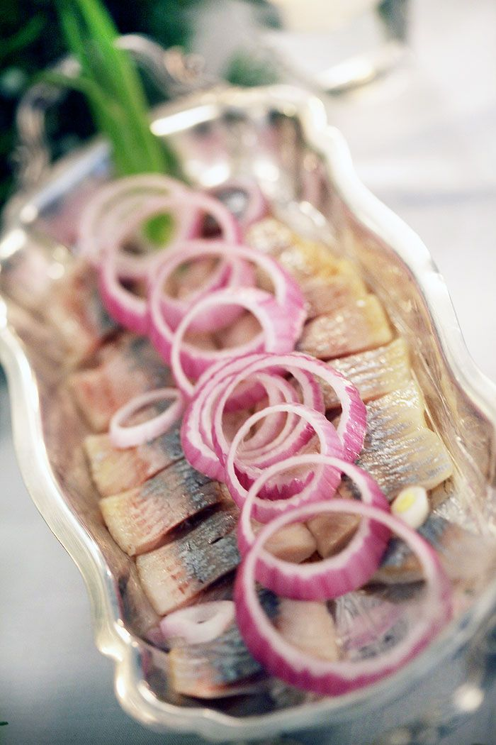 FROM RUSSIA WITH LOVE: Pickled Herring and onions