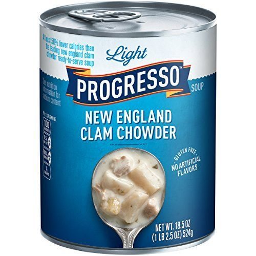 Progresso Soups Light Soup New England Clam Chowder 185 Ounce ** Continue to the product at the image link.