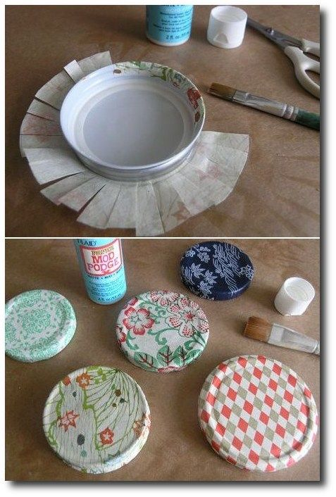 Paper Scrap Recycling with Mod Podge Tutorial on Design Sponge at…