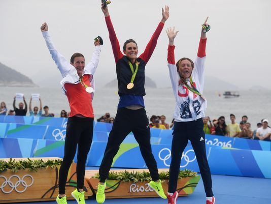 USP OLYMPICS: TRIATHLON-WOMEN'S OLYMPIC DISTANCE S OLY BRA