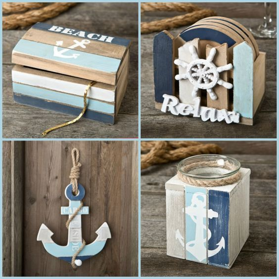 New Nautical Theme Party Favors and Accessories from HotRef #hotref #nautical #partyfavors