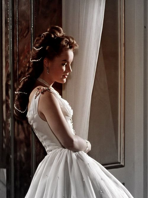 Romy Schneider as Empress Elisabeth Sissi of Austria in Sissi - The Young Empress (1956).