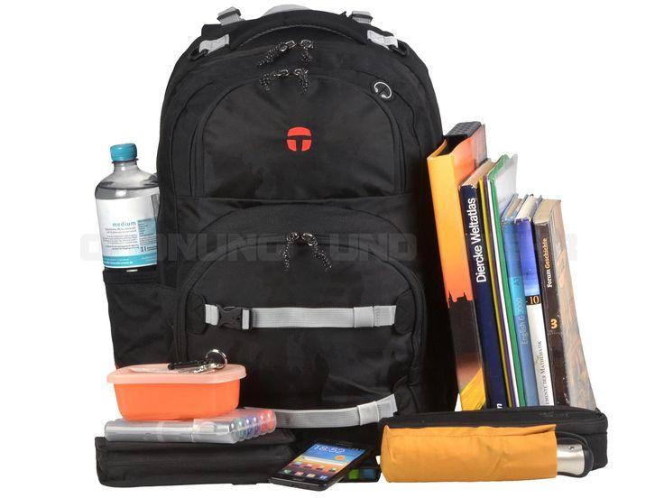 Take it Easy CAMOUFLAGE BLACK - Schulrucksack OSLO FLEX Schulranzen DER NEUE - schwarz 28042-495-001