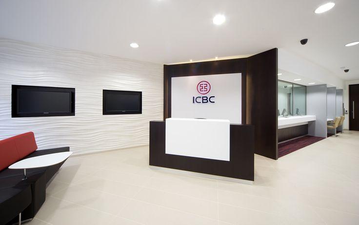 ICBC Bank - London #ceramicheCaesar #tiles #gresporcellanato #banks #piastrella
