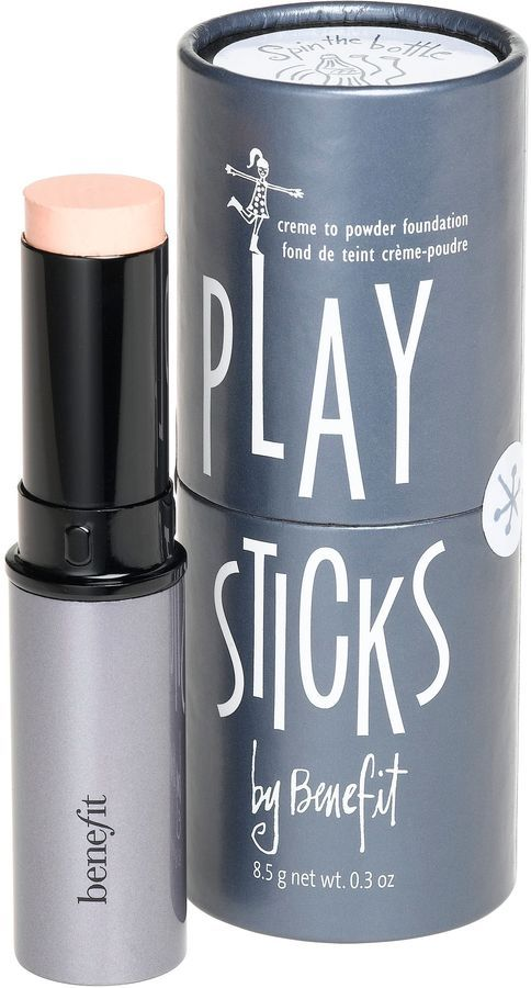 Literally the best kept secret of benefit! There Ah-Mazing foundation sticks infused with tea tree oil to keep you blemish free! I dont know why they dont advertise this one more its awesome!