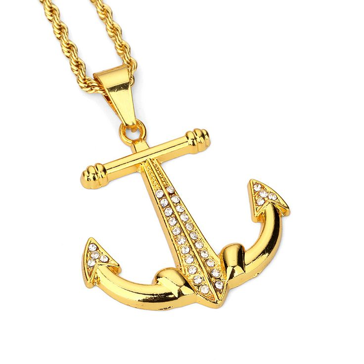 3824 best necklaces pendants images on pinterest drop necklace fashion trendy mens jewelry anchor pendant necklaces long chains necklace filling pieces hip hop jewelry men aloadofball Choice Image