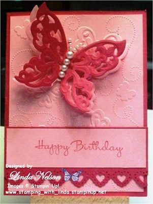birthday, butterflies, Spellbinders Shapeabilities Wings of Hope
