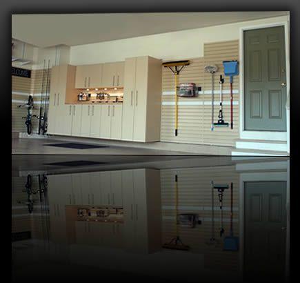 Finished garage.   New House Ideas   Pinterest   Finished ...