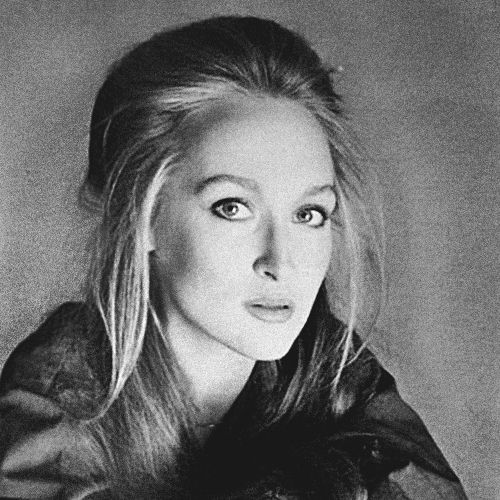 """Meryl Streep (1979), ENFJ.  Diane Keaton (iNFP) says she developed """"kind of a crush"""" on Meryl during the filming of 'Marvin's Room': """"When you look in Meryl's face, you get lost in her eyes... I find her beautiful, and I'm constantly looking at her."""""""