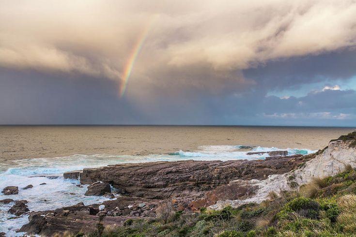 NSW Australia - 'Green Cape Rainbow' by Racheal Christian #photography - To buy visit http://racheal-christian.pixels.com/featured/green-cape-rainbow-racheal-christian.html