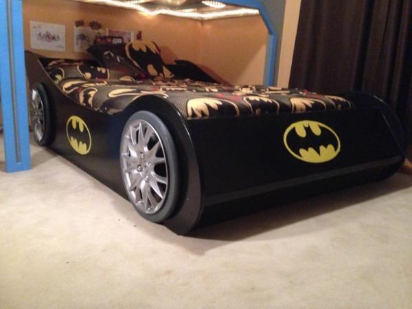 Batmobile Full Bed Kids Bedroom Tutorials Toddler Bed