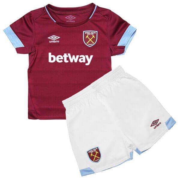 brand new 928f7 b85a7 Cheap West Ham United | Home Football Shirt 18/19 Kids ...