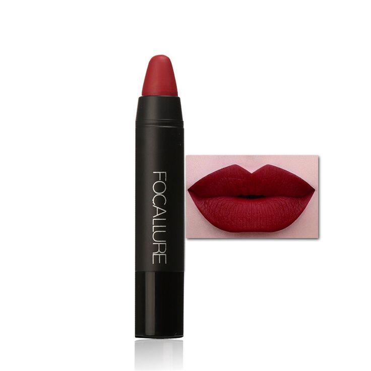 Cosméticos de larga duración líquido lápiz labial mate lápiz labial brillo de labios maquillaje hot