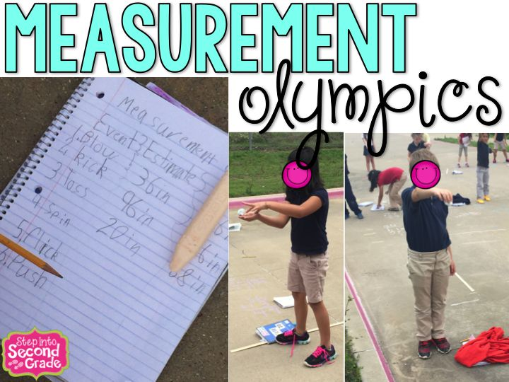 Step into 2nd Grade with Mrs. Lemons: Measurement Olympics 2015