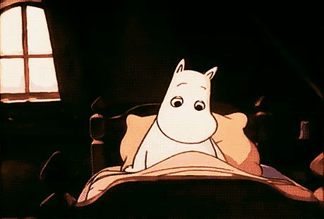 Good morning, Moomin!