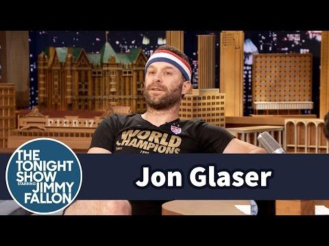Jon Glaser Dresses Up for the U.S. Women's World Cup Champs - YouTube