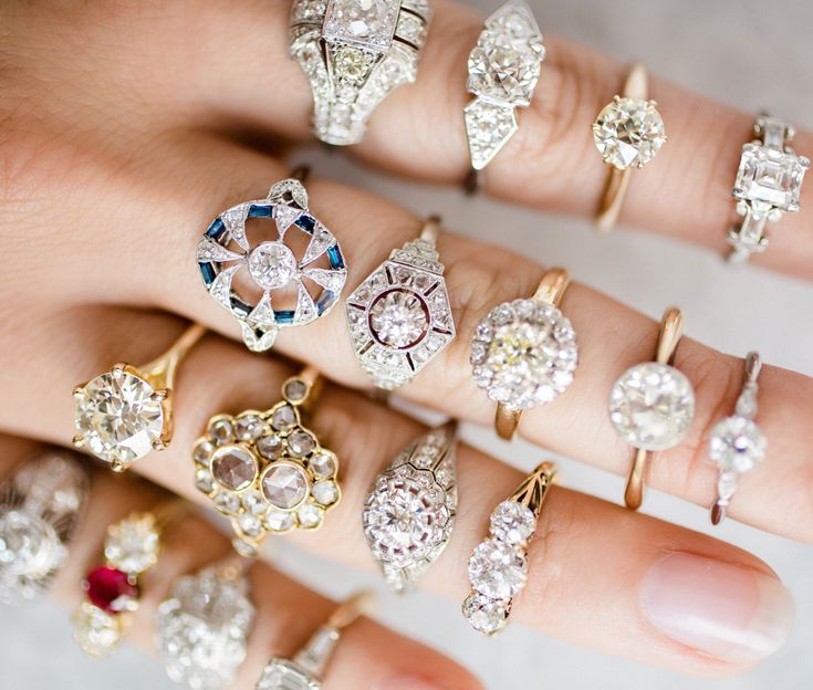 Trending Which Vintage engagement ring suits your fancy Shop the diverse array of engagement rings from