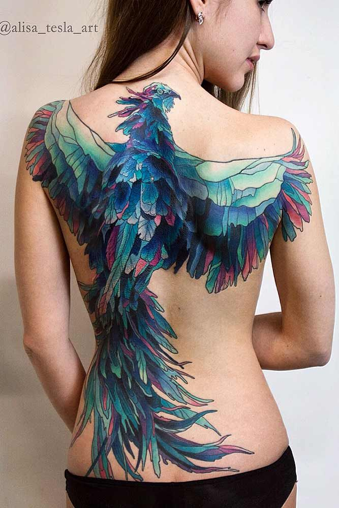 33 Amazing Phoenix Tattoo Ideas With Greater Meaning Phoenix Tattoo Hot Tattoo Girls Hot Tattoos