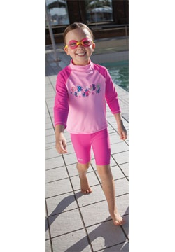 Shell Beach Sun Protection Set - Zoggs Australia See more of the range at - www.zoggs.com.au